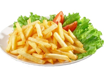 French fries slices (10 servings)