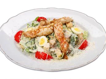 Caeser salad with chicken
