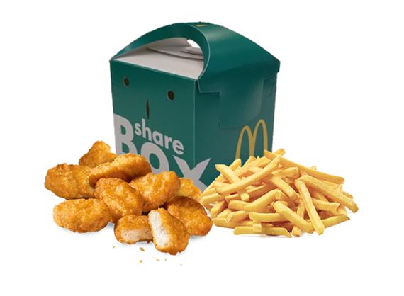 Share Box с  McNuggets