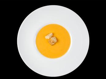 Vegetable puree soup