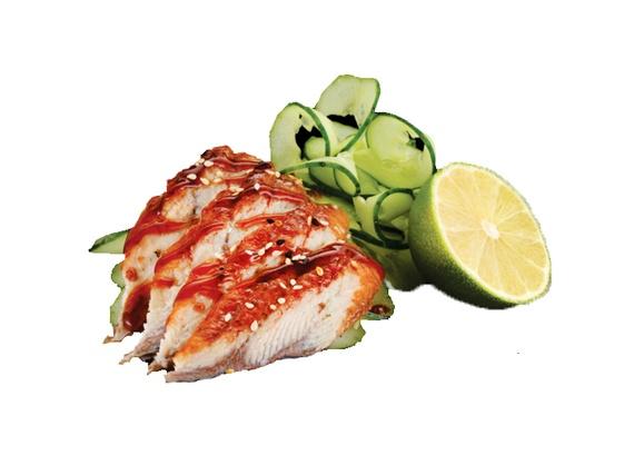 Sashimi anghilă afumată