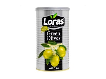 LORAS Green olives C/S  430 gr
