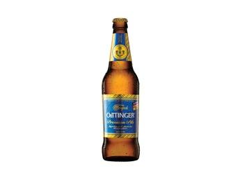 Beer lager Oettinger Premium Pils 0.5l