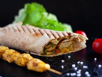Super-kebab de pui