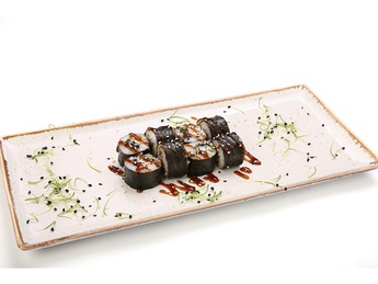 Maki with cucumber and eel