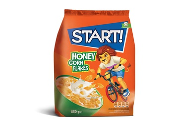 START Corn flakes with honey 850g