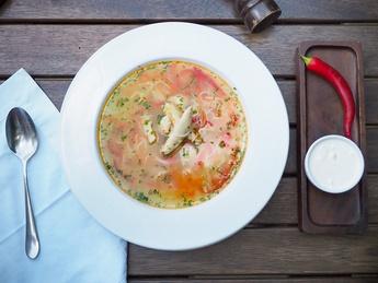 Zeama (Moldavian dish)