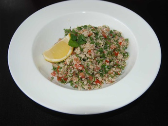 "Salata de couscous "" Tabboouleh"""