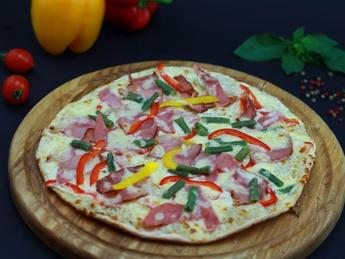 Pizza Cream Carbonara