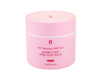 Pink Clay Pack mask Tosowoong
