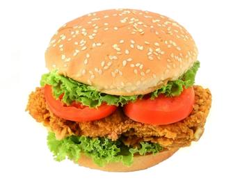 Burger crocant