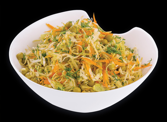Cabbage and Pea Salad