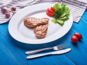 Steak chicken