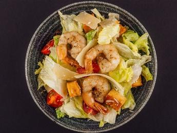 Shrimp Сaesar salad