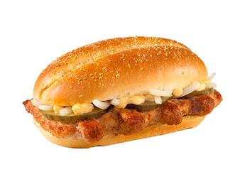 Burger cu porc