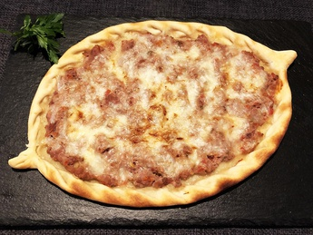 Pide with lamb