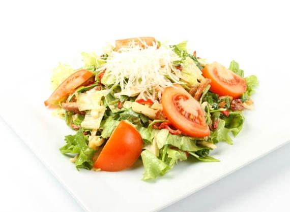 Warm salad Prague