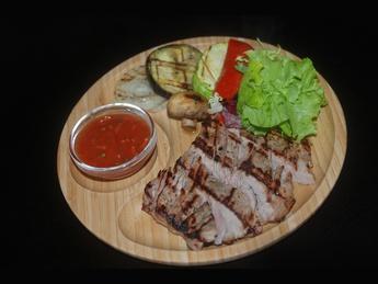 Steak din carne de porc