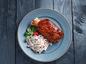 BBQ pork knuckle