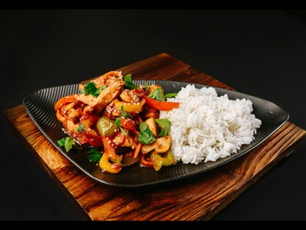 Chinese style chicken fillet