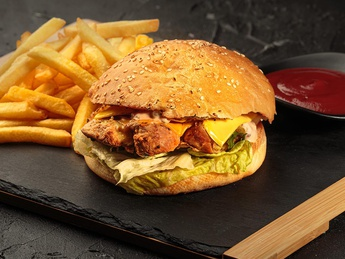 Set GRILL Burger with chicken