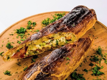 Khachapuri vegetable with cheese