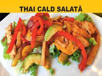 Тайский тёплый салат