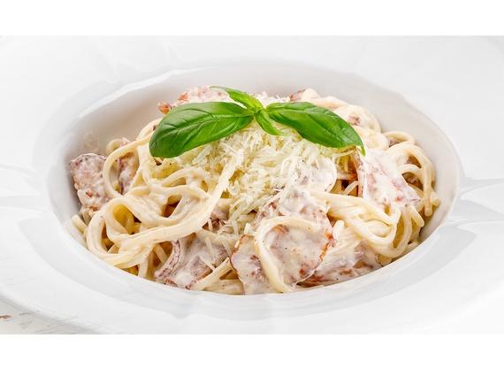 Спагетти в соусе Карбонара