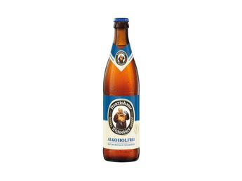 Wheat beer Franziskaner Alkoholfrei (alkohol free) 0.5l