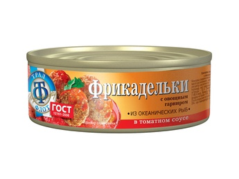 TRAL FLOT Fish meatballs in tomato sauce 230g