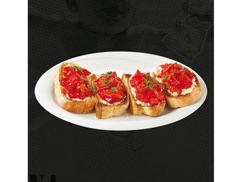 Bruschette con peperoni
