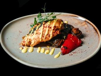 Chicken fillet with mozzarella
