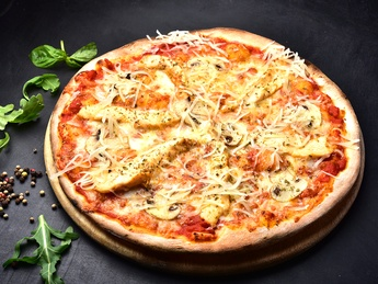 Pizza Pollo Fungi