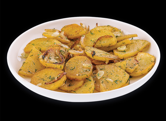 Homemade fried potatoes