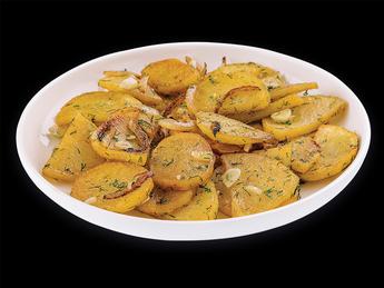 Жареная картошка по-домашнему