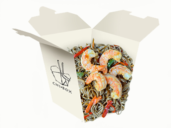 Soba with shrimps [86]