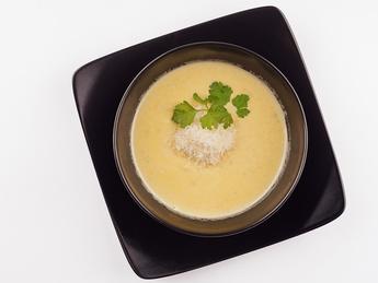 Суп крем с курицей и Шампиньонами