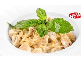 Спагетти с соусом Aльфредо