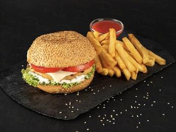 Chicken burger Combo