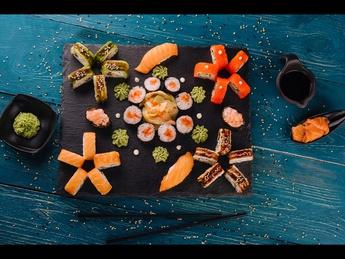 Sushi set MozAicu