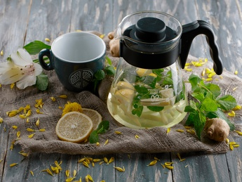 Nibbana Ginger tea
