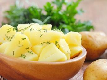 Spring potatoes