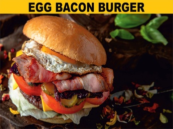 Egg bacon бургер