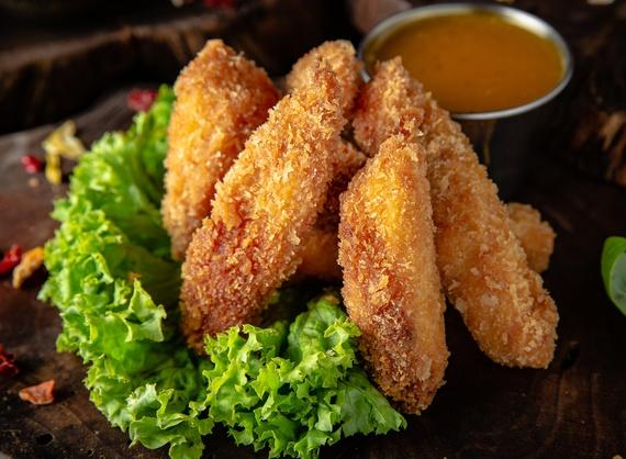 Crispy nuggets