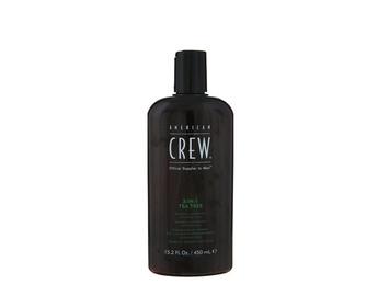 CREW Tea Tree 3 in 1 Shampoo, Conditioner, Body Wash