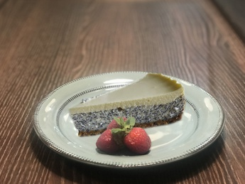 Poppyseed cheesecake