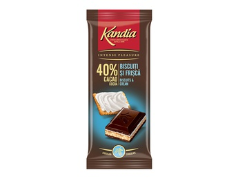 Chocolate with Kandia cream and biscuits 115g