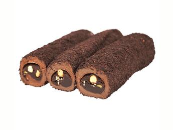 Rahat Lokum baton cu ciocolata si alune de padure