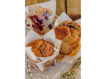 Wild Berry Vegan Muffin