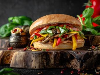 Green burger  (no meat)